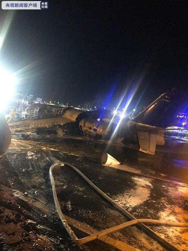 菲律宾医疗包机起火 机上8人全部遇难