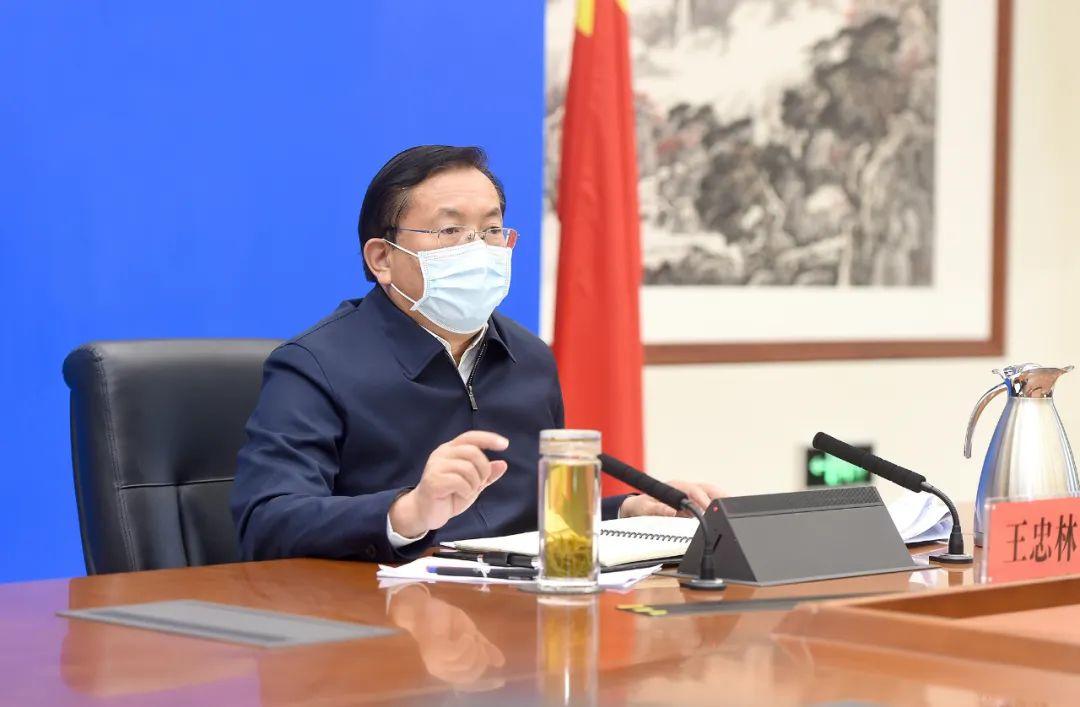 王忠林主持召开市委常委会会议:因时因势调整工作着力点和应对举措图片