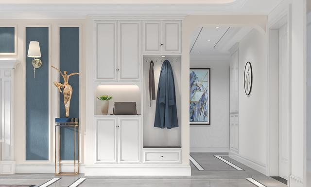 140平米的现代风格,原来三居室还可以这样装修!-高新绿城玉蘭花园装修