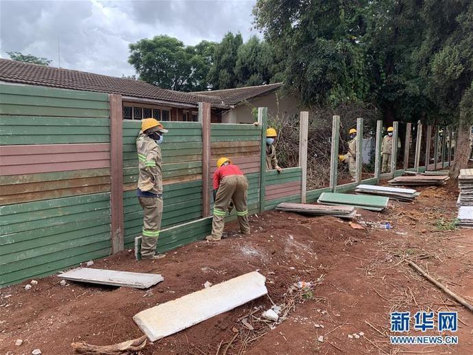 中企援建津巴布韦的医院升级改造项目竣工