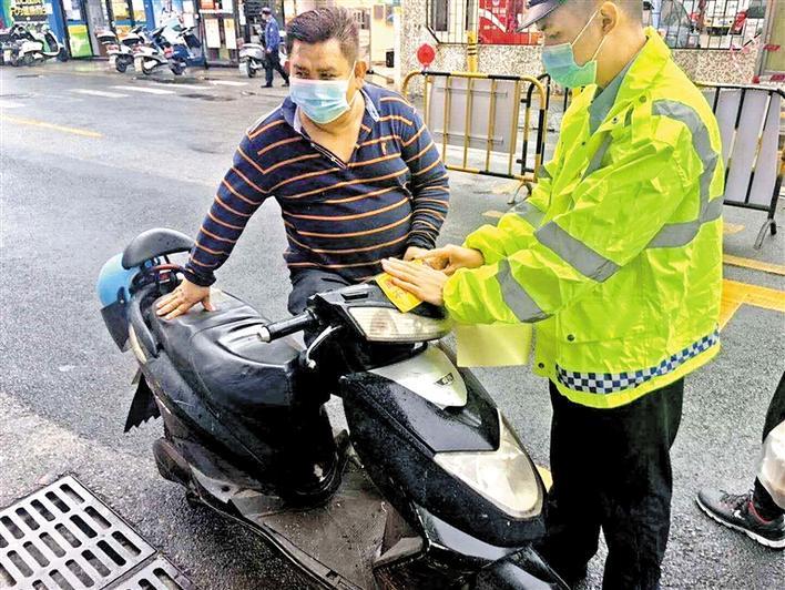 严查交通违法 护航市民生命