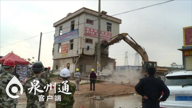 泉州泉惠石化园区开展专项拆除行动