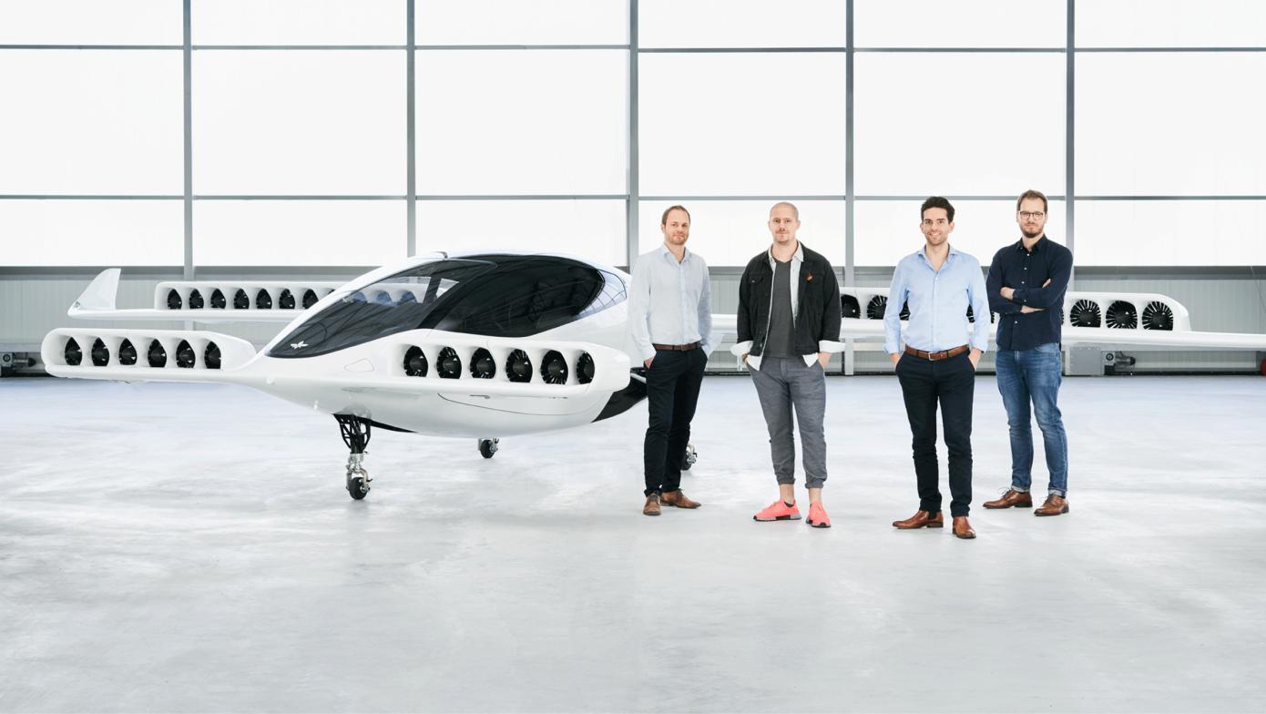 研发电动飞行出租车,德国初创公司「Lilium」获腾讯领投2.4亿美元融资