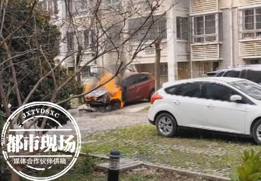 一家人开车去扫墓,回来后车子自燃了,车主的怀疑让人吃惊