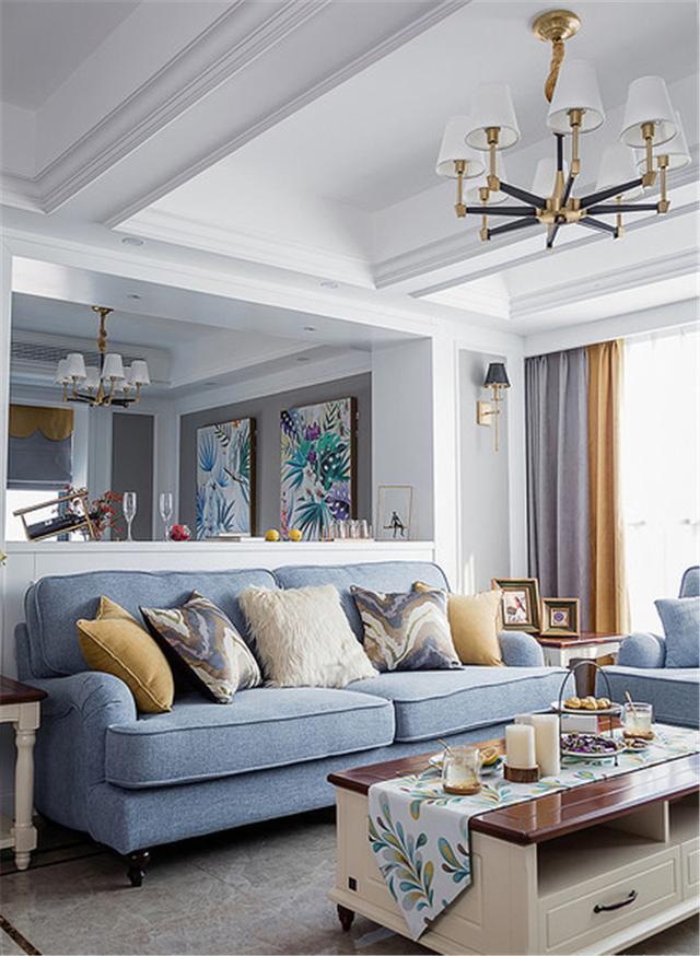 10万块钱装修的112.71平米的房子,混搭风格简直太美了!-龙都国际装修