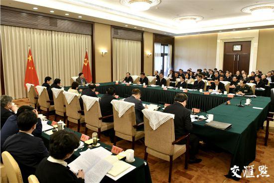 江苏省委应对疫情工作领导小组召开会议