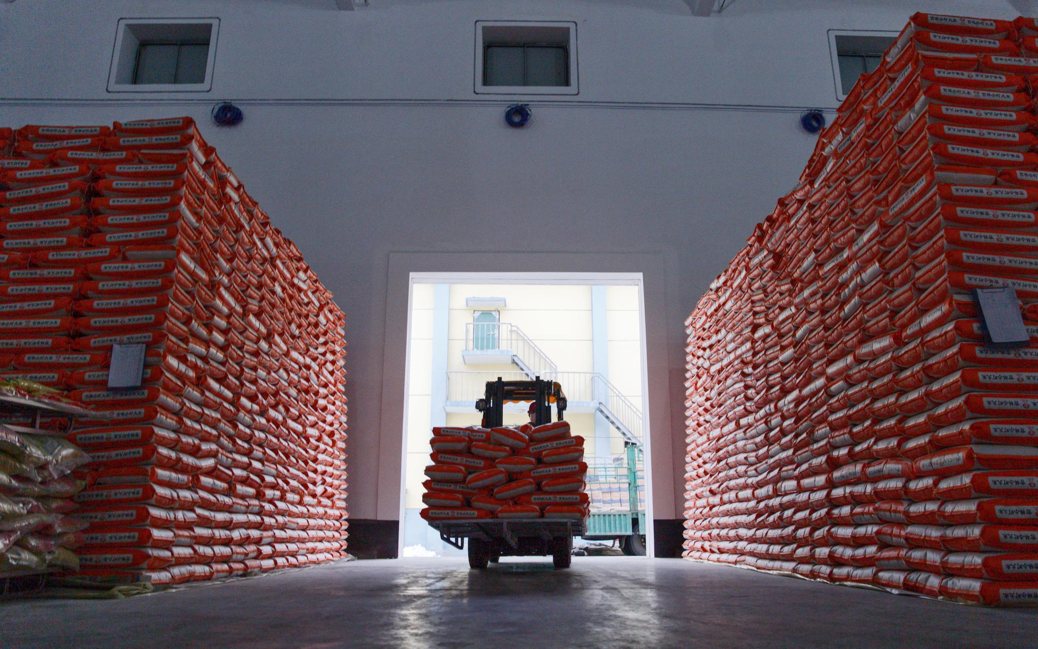 到底用不用囤粮?我们去北京粮库、面粉加工厂看了看图片