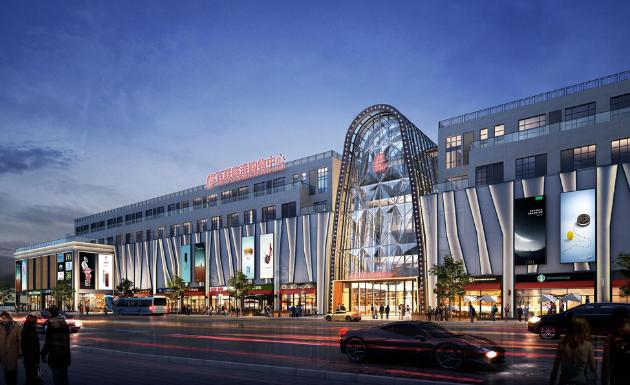 百联临港购物中心今天签约,计划今年10月1日试营业
