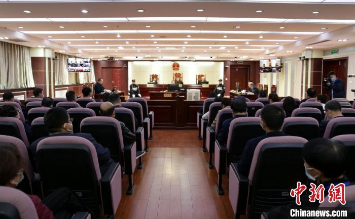 """宁夏司法厅""""一把手""""出庭应诉 系司法行政机关重组后全国首例图片"""