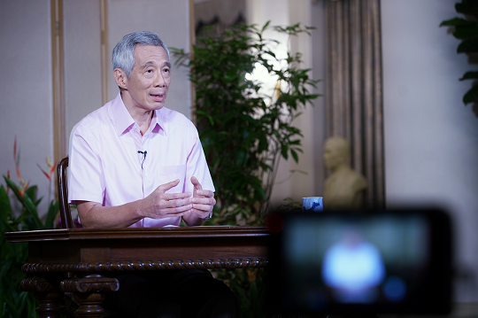 新加坡总理李显龙:未来几周新加坡将面临严峻考验