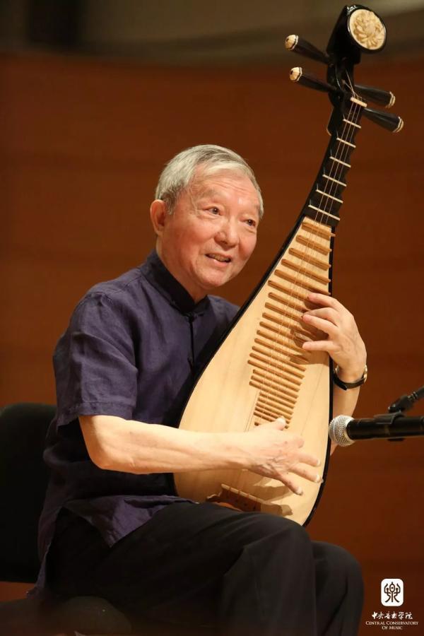 琵琶演奏家刘德海去世 享年83岁图片