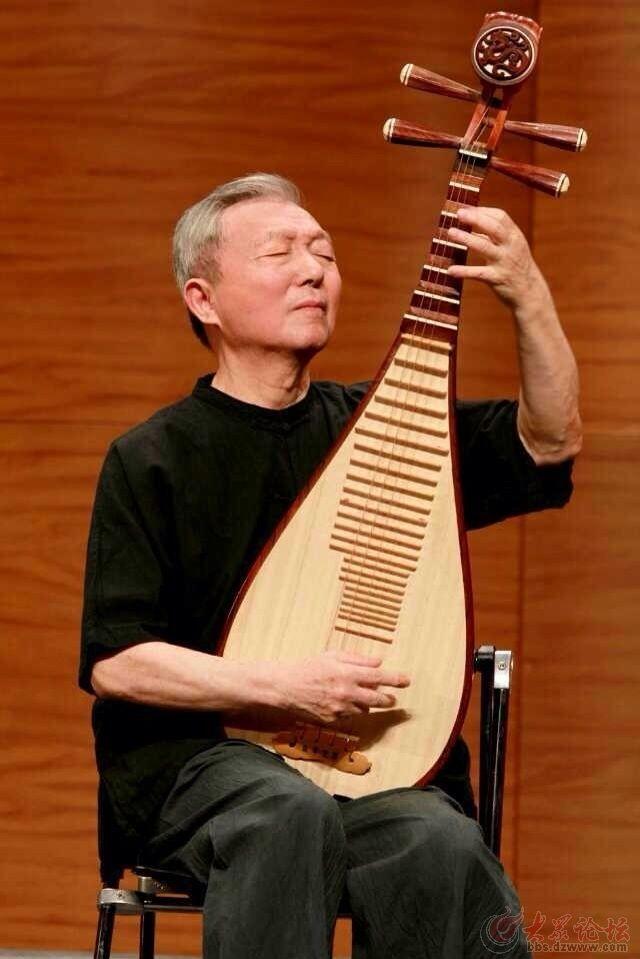 琵琶演奏家刘德海逝世,曾改编《十面埋伏》大获成功图片