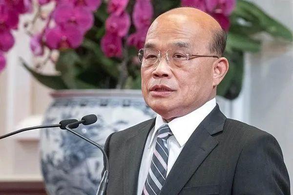 ▲苏贞昌资料图片(台湾中时电子报)