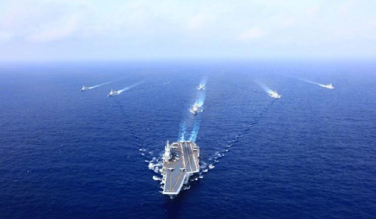 刚刚,海军回应辽宁舰南海训练
