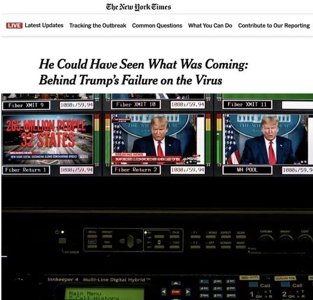 世卫和美媒同时反击,特朗普爆粗口
