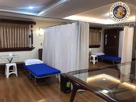 4月3日,菲律宾总统杜特尔特下令将总统游艇改建为临时医院,用于收治新冠肺炎患者。