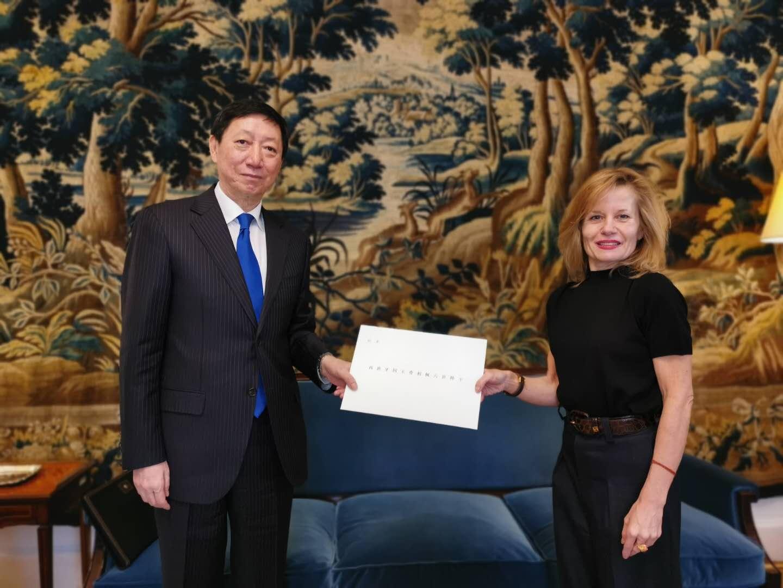 吴海涛出任中国驻西班牙大使 此前为中国常驻联合国副代表图片
