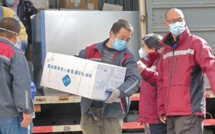 【蓝冠】芬河一线医疗物资基本满蓝冠足需求图片