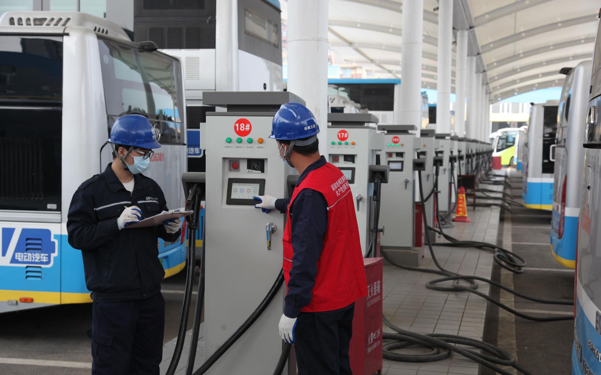 2819个新能源汽车充电桩今年落地北京,覆盖这些地方图片
