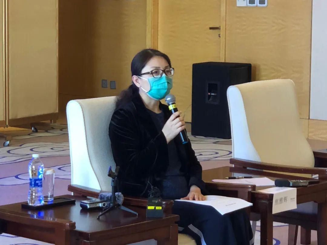 外媒记者当面质疑中国病死率,焦雅辉回应图片