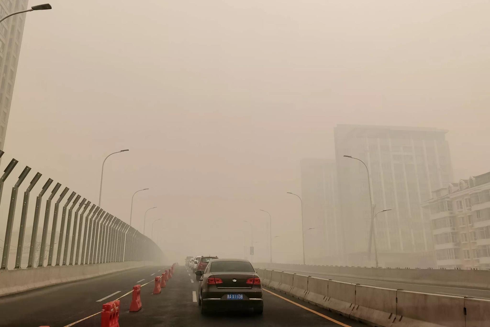 空气质量持续爆表,黑龙江环境厅派出6个秸秆禁烧巡查组图片