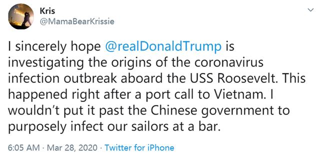 """""""罗斯福""""号航母的病毒从哪来?外国网友翻出了篇""""老新闻"""""""