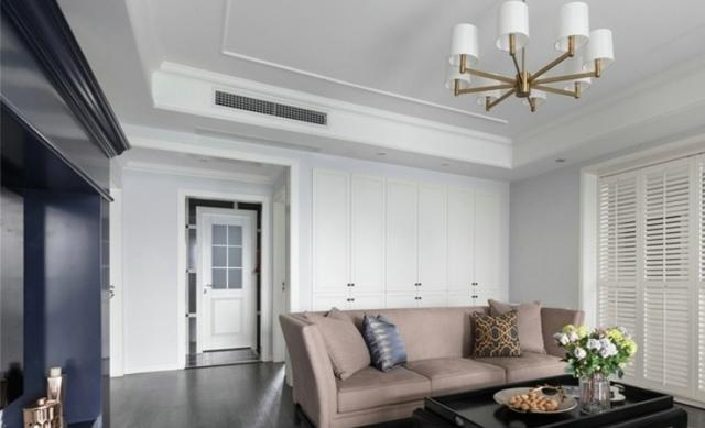 意想不到的神奇效果,105平米的三居室,混搭风格只花了11万,太值了!-大华斐勒公园装修