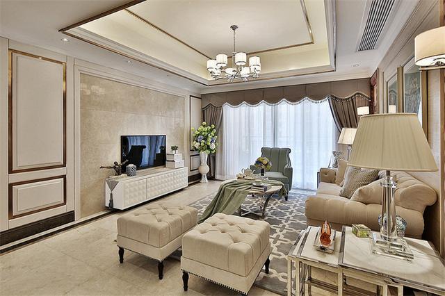 意想不到的神奇效果,122平米的五居室,田园风格只花了10万,太值了!-蜀都万达广场装修