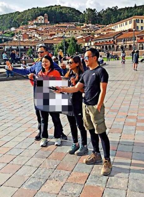"""乱港分子在秘鲁宣传""""港独""""后因疫情滞留,向中国大使馆求助图片"""