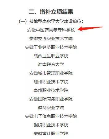 芜湖一高校获批省技能型高水平大学建设单位