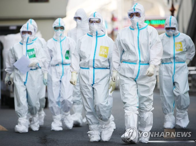 韩国新增101例新冠肺炎确诊病例,累计确诊9887例