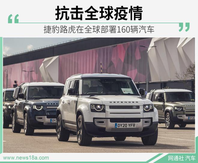 抗击新冠肺炎 捷豹路虎向应急组织提供160辆车