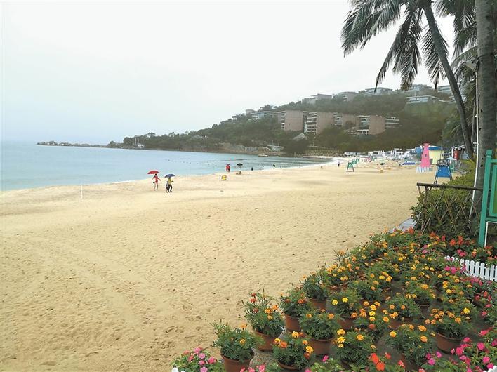 小梅沙度假村复工开园 首位游客免费入住高级客房