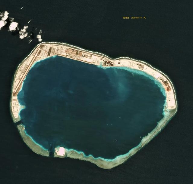 南沙群岛部分岛礁2020年以来卫星图,哪些岛礁有新变化呢?