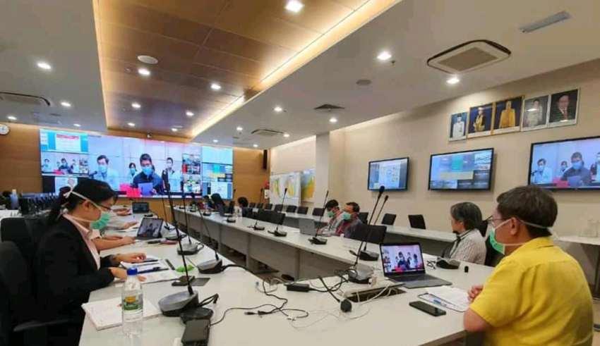 马来西亚与中国定期开展视频会议交流抗疫经验