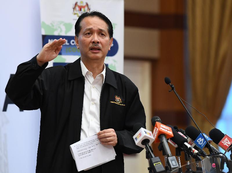 马来西亚设334处隔离中心接收归国公民