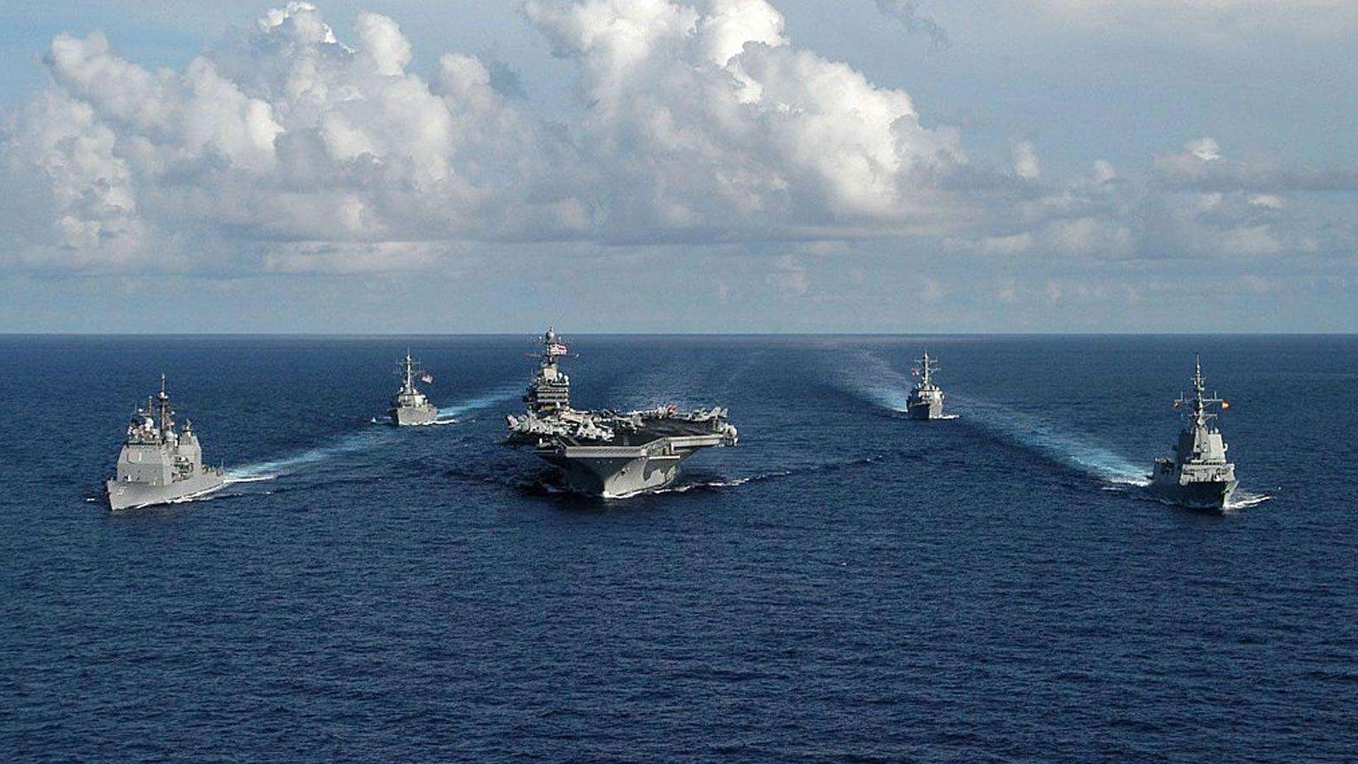 视频|因疫情两艘航母停摆 美在亚太会出现
