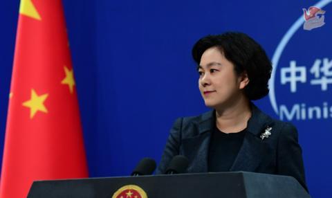 蓬佩奥称美国援助数额远超中国 华春莹:他为何要从1948年算起?