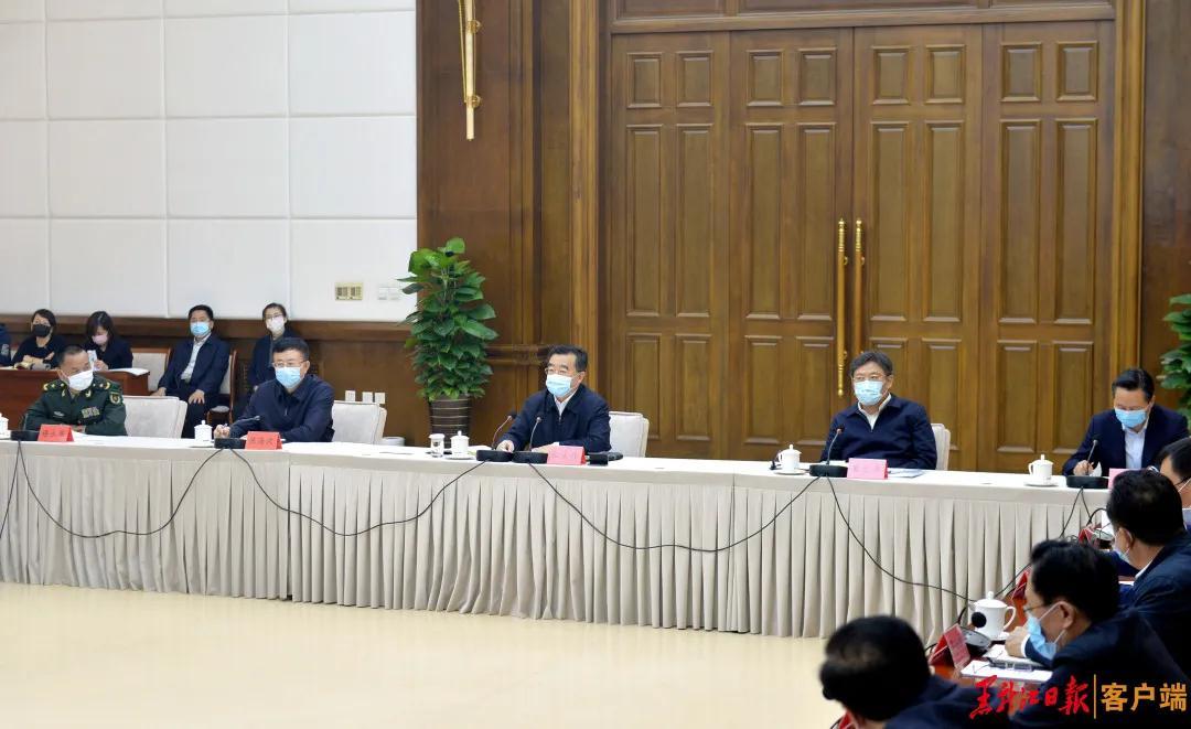 黑龙江省委书记:深刻汲取教训决不能让疫情形势出现逆转图片