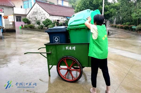 摩天平台:上南京高淳摩天平台打造农村垃圾分类示范图片