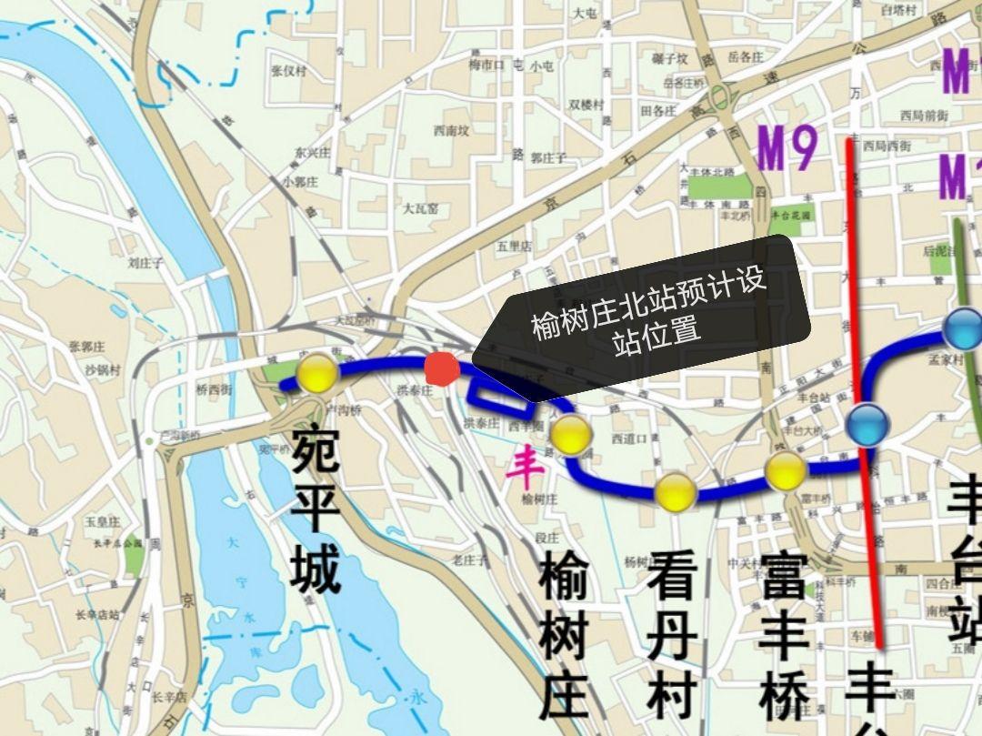 摩天平台,北摩天平台京地铁16号线将增图片