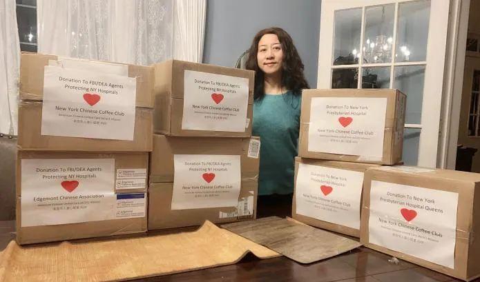 在纽约的黔籍华人家庭:我在家里工作,孩子都在家上网课,当麻醉师的先生很少回家