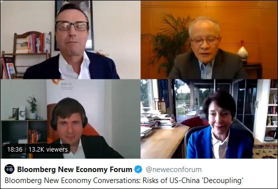 崔天凯:中国提供美国14亿个口罩 意味着每个美国人可得到5个图片