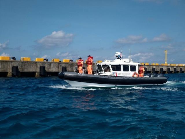 """加强执法力度,台""""海巡署""""派出全新多功能艇进驻南沙太平岛"""