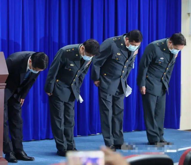【摩天注册】台军摩天注册方鞠躬道歉有内味了图片