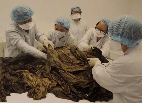 """八百年前的南宋""""衣橱"""":赵伯澐墓出土服饰的应急保护(下)"""