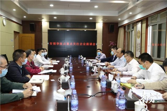 杨晓棠走访东坑重点企业:要对企业诉求予以快速反应