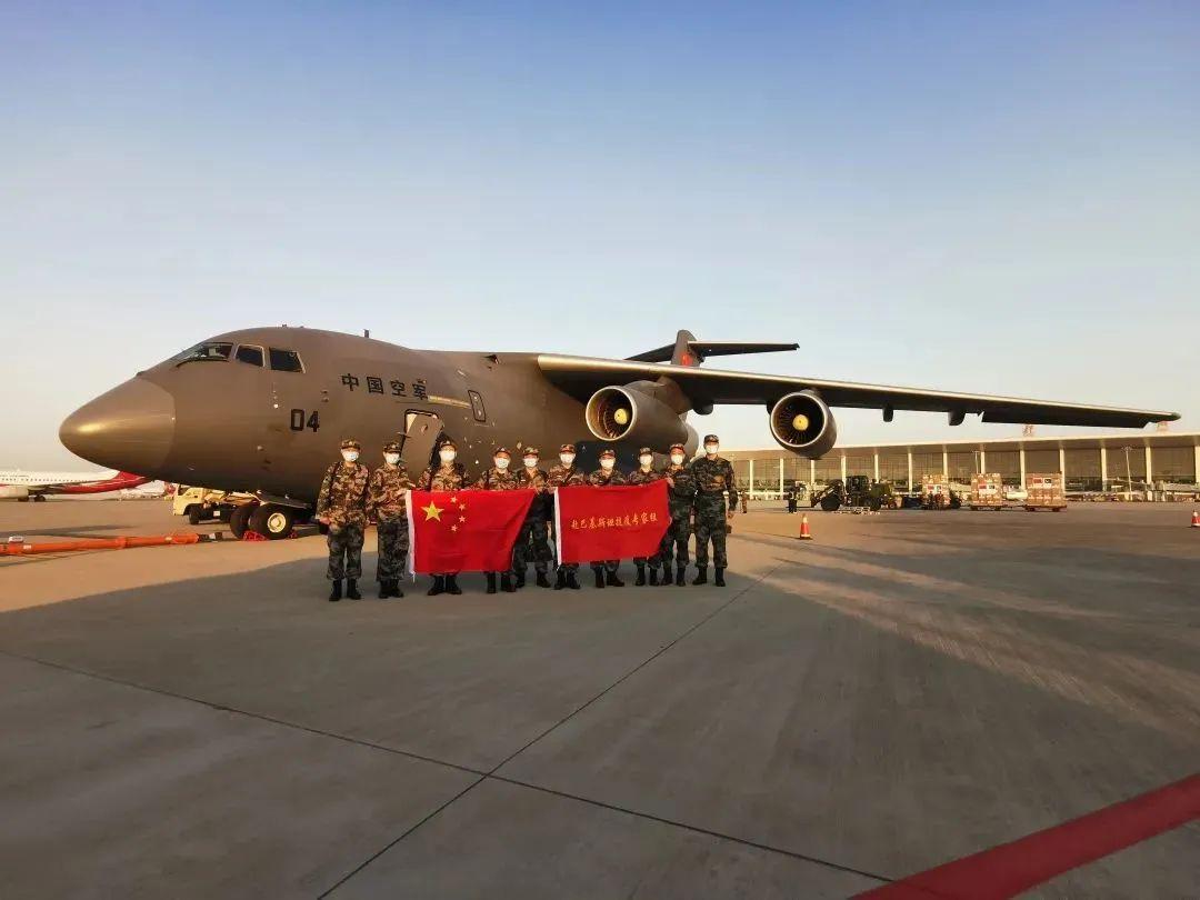 中国人民解放军,紧急援助三国!图片