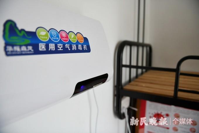 防疫物资备足 各项设施到位 ——上海市位育中学探访记