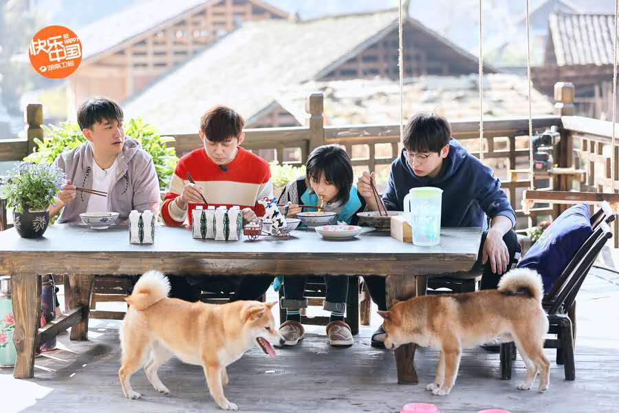 《向往的生活4》5月开播,黄磊何炅彭昱畅张子枫相聚云图片